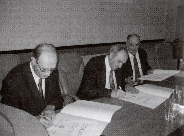 Podpis listine